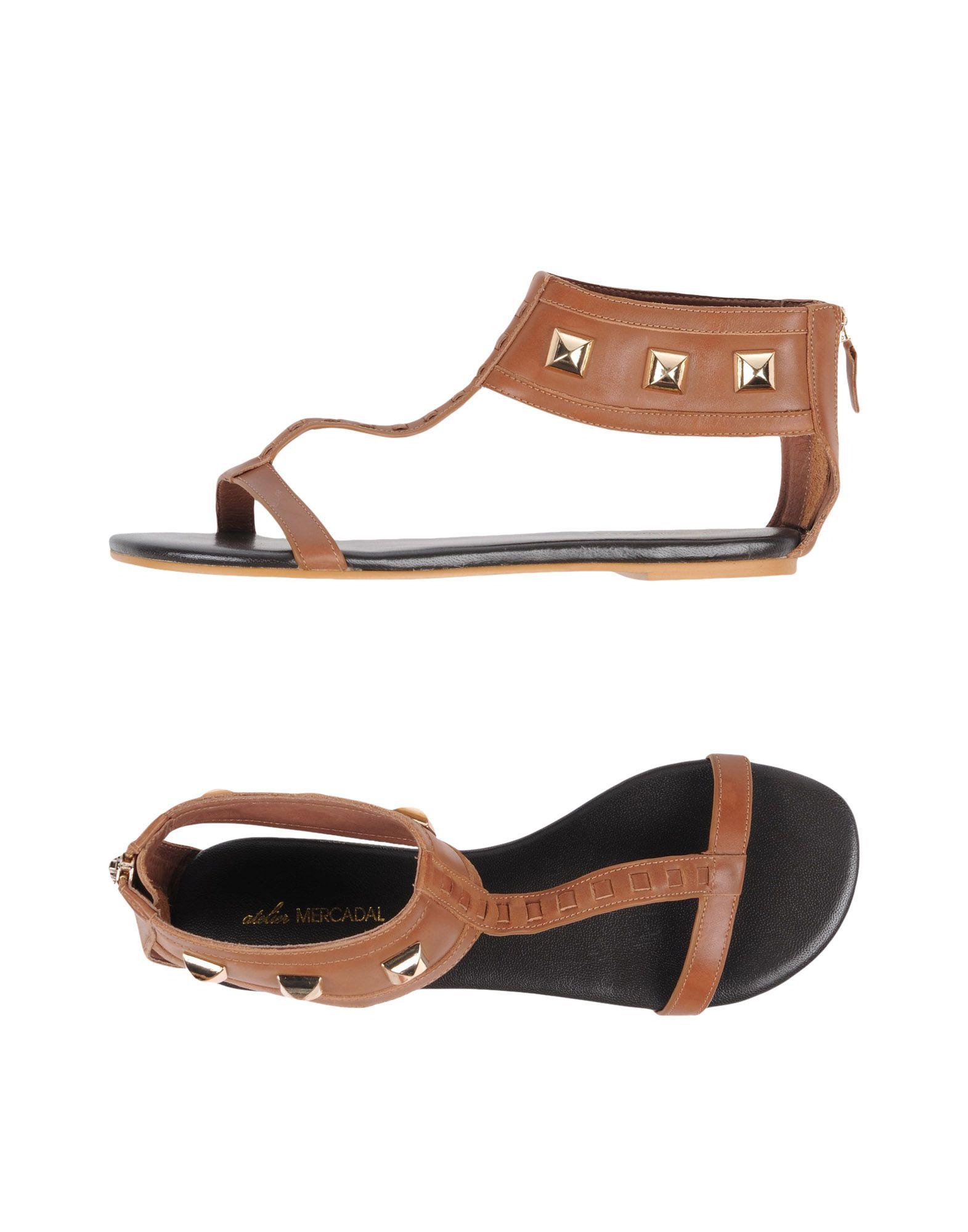 ATELIER MERCADAL Sandals in Camel