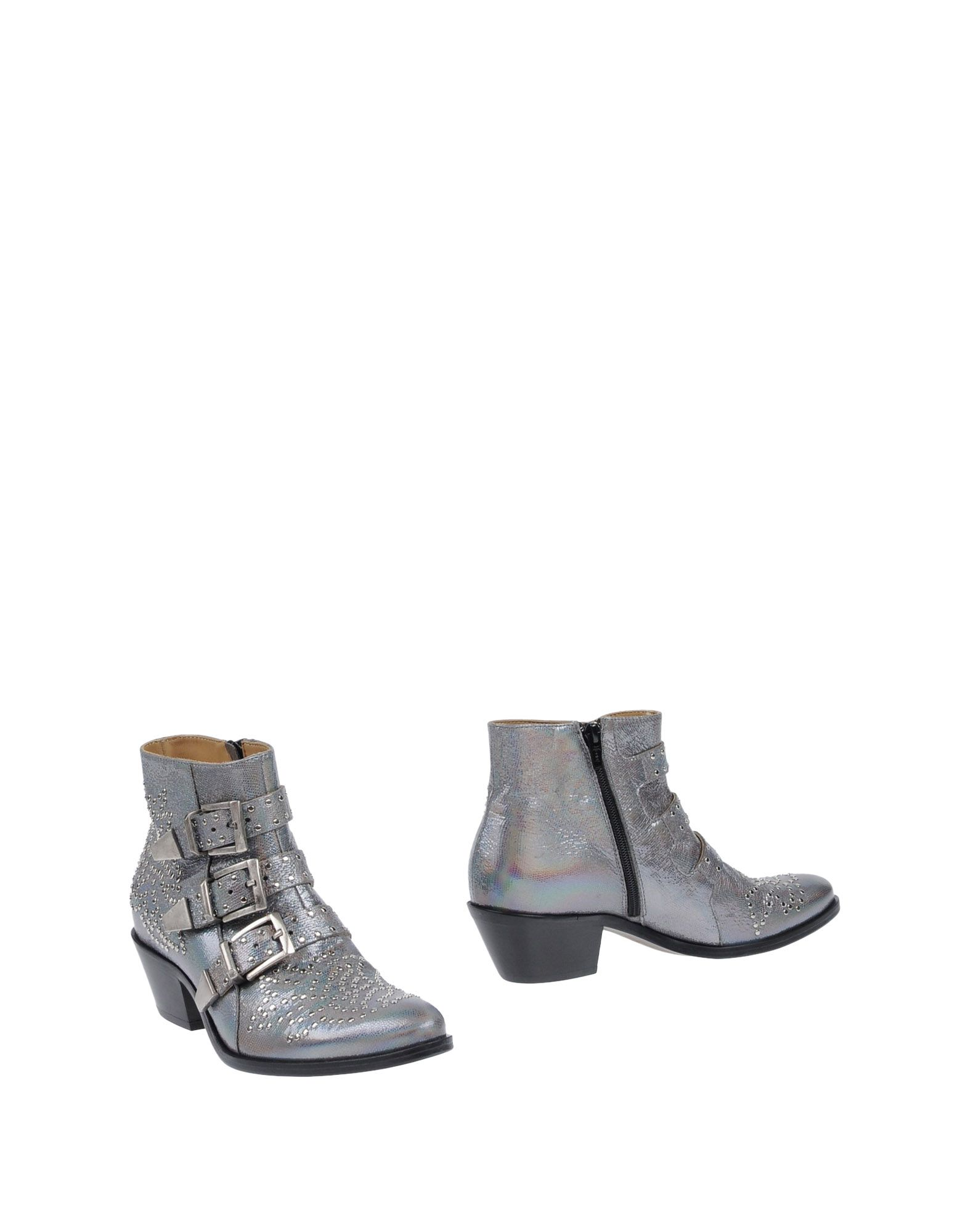 LEMARÉ Ankle Boot in Slate Blue