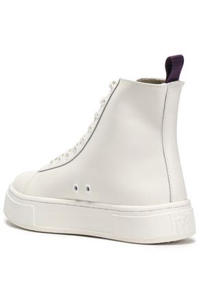 EYTYS Kibo leather high-top sneakers
