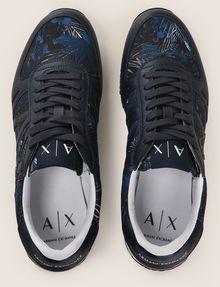 ARMANI EXCHANGE TROPICAL FLORAL RETRO LOWTOP SNEAKER Sneakers Man e