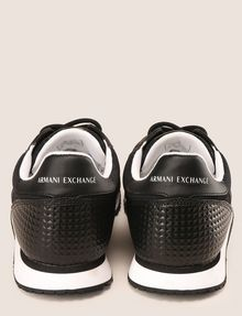 ARMANI EXCHANGE GEOMETRIC LOGO SPORTY LOWTOP SNEAKER Sneakers Man d