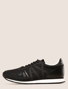 ARMANI EXCHANGE GEOMETRIC LOGO SPORTY LOWTOP SNEAKER Sneakers Man f