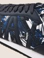 ARMANI EXCHANGE ボタニカル柄 ロゴスニーカー スニーカー メンズ a