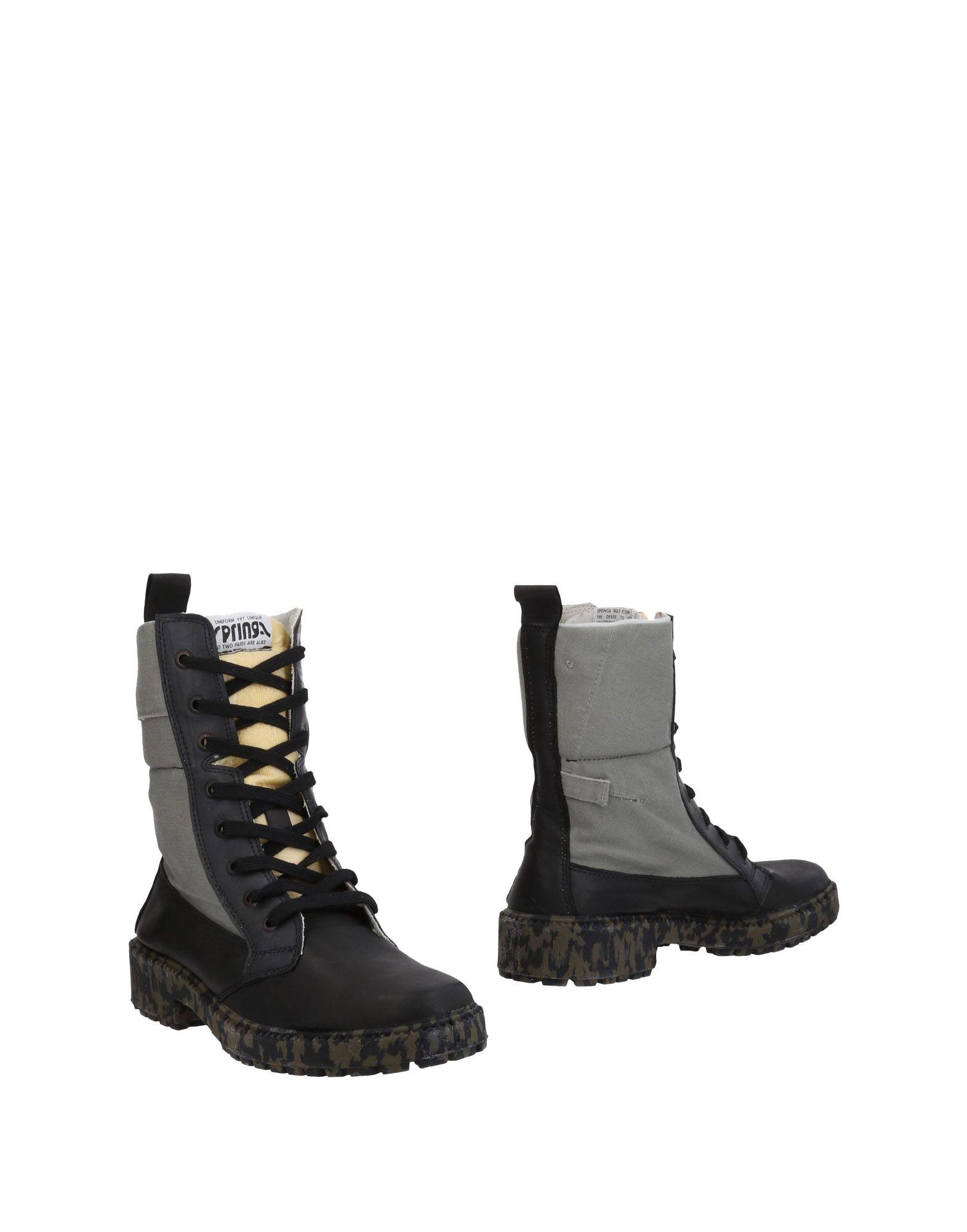 SPRINGA | SPRINGA Ankle boots | Goxip