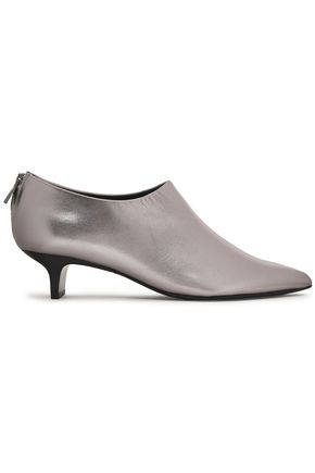 SIGERSON MORRISON Maria metallic leather ankle boots