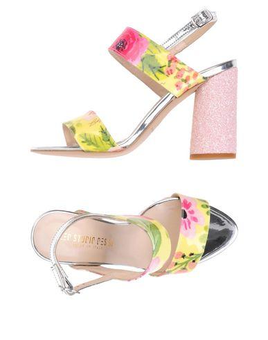 Купить Женские сандали LEO STUDIO DESIGN желтого цвета