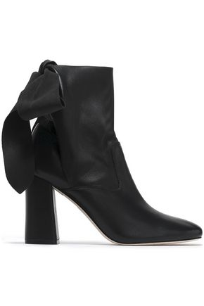 SIGERSON MORRISON Knotted leather ankle boots