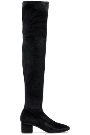 SIGERSON MORRISON Velvet over-the-knee boots