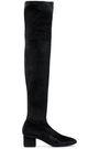 SIGERSON MORRISON Velvet over-the-knee boots