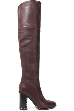 SIGERSON MORRISON Mars studded suede thigh boots