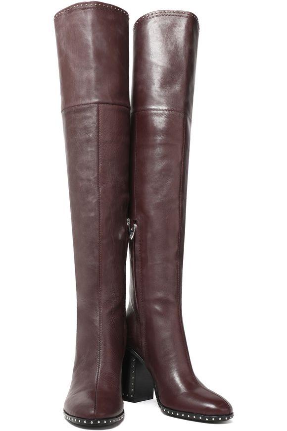 4445eb7d35a Mars studded thigh boots