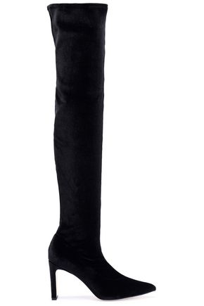 SIGERSON MORRISON Hye velvet thigh boots