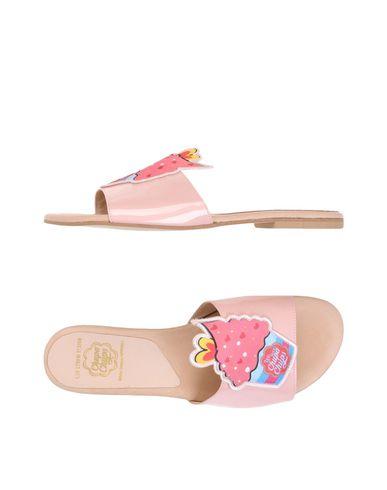 Купить Женские сандали LEO STUDIO DESIGN светло-розового цвета