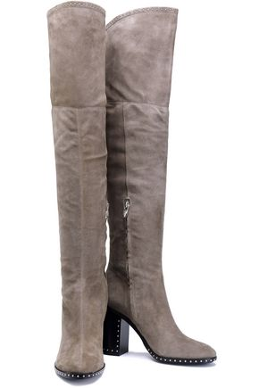 SIGERSON MORRISON Mars studded thigh boots