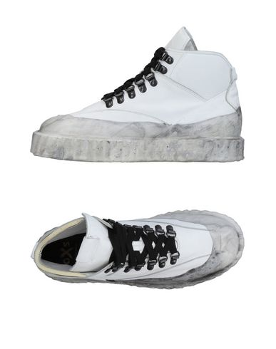 Sneackers Bianco donna RUBBER SOUL e O.X.S. Sneakers&Tennis shoes alte donna