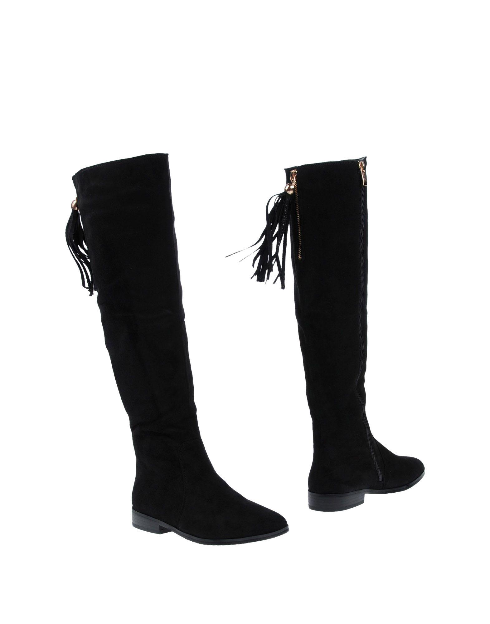 《送料無料》NOA HARMON レディース ブーツ ブラック 37 紡績繊維