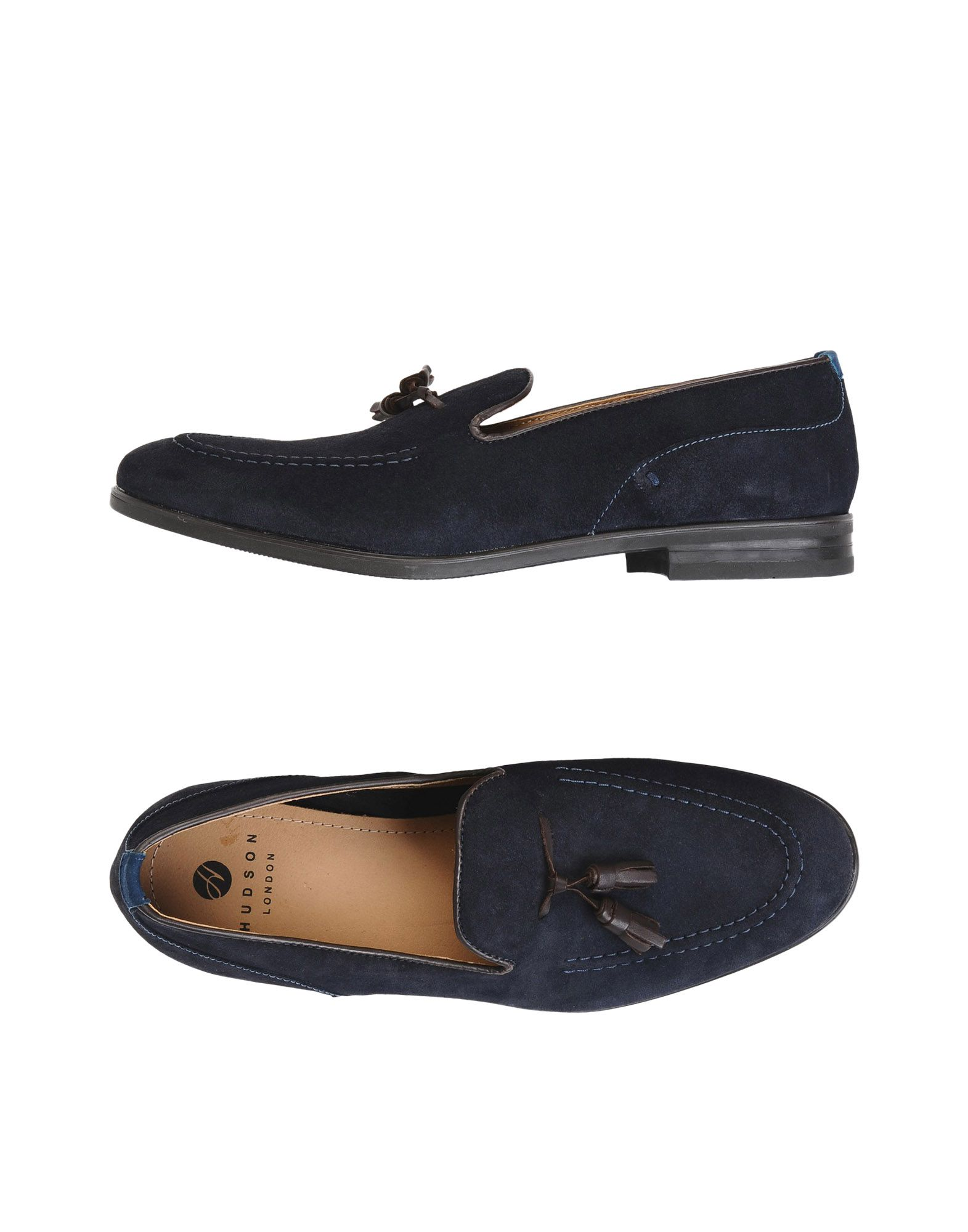H BY HUDSON Loafers in Dark Blue