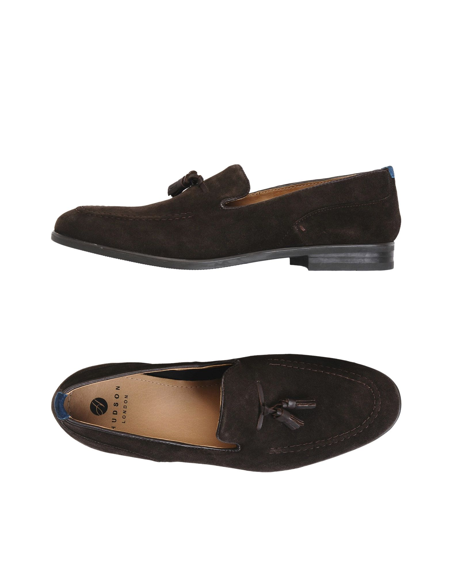 H BY HUDSON Loafers in Dark Brown