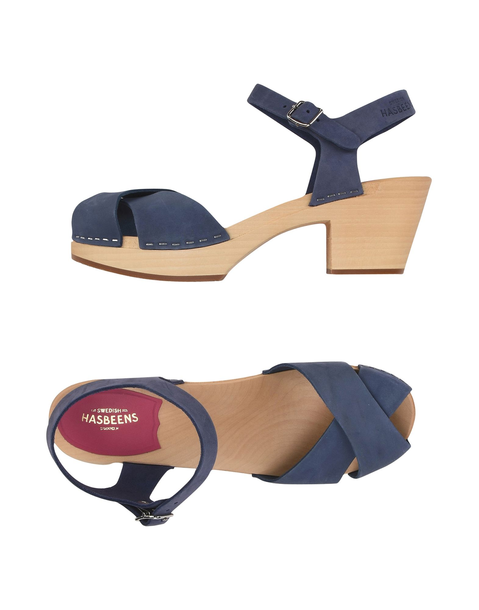 SWEDISH HASBEENS Sandals in Pastel Blue