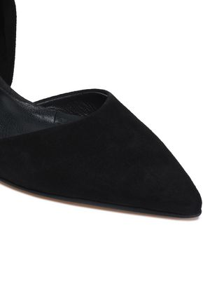 IRIS & INK Agyness suede mules
