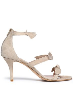 IRIS & INK Antonia knotted suede sandals