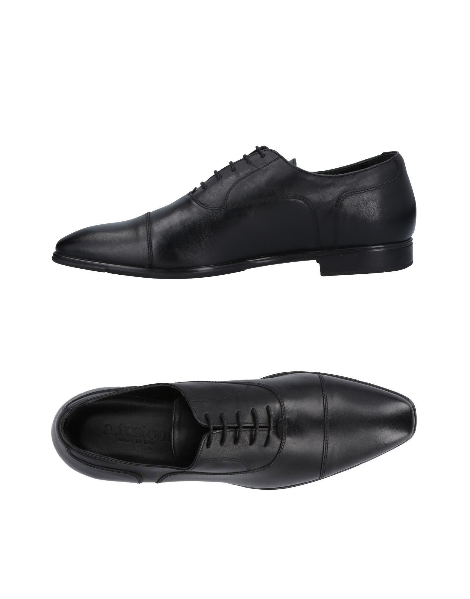 A.TESTONI Обувь на шнурках обувь на высокой платформе its own brand 116 31 32 33