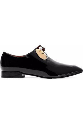 3.1 PHILLIP LIM Embellished patent-leather brogues