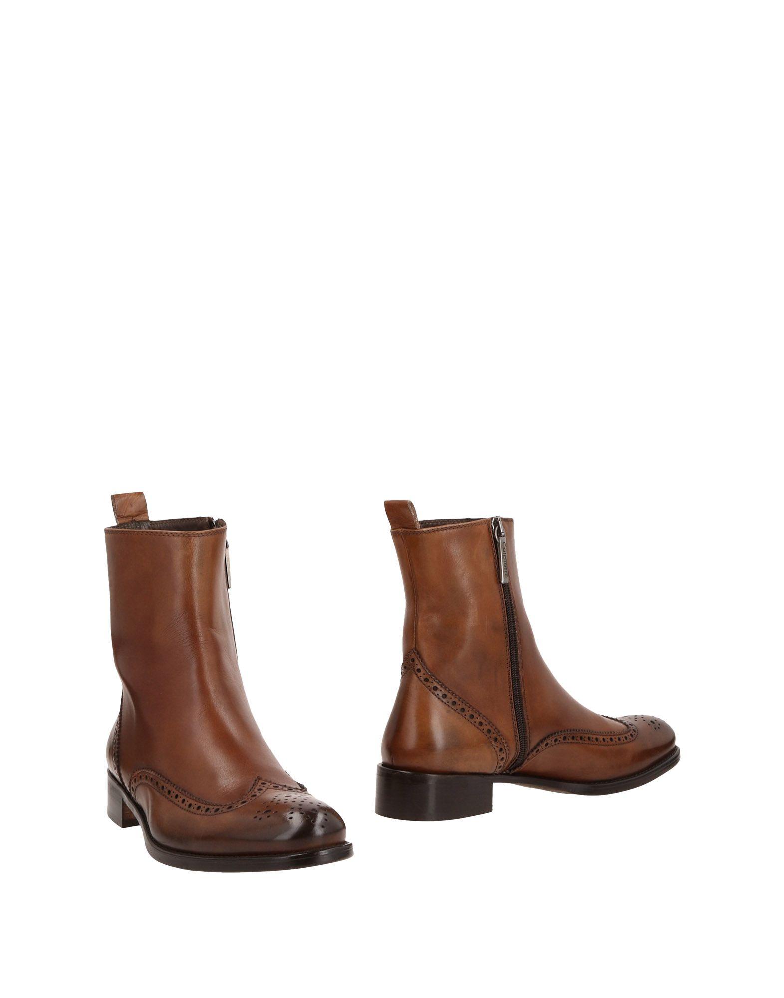 CALPIERRE Полусапоги и высокие ботинки calpierre мокасины