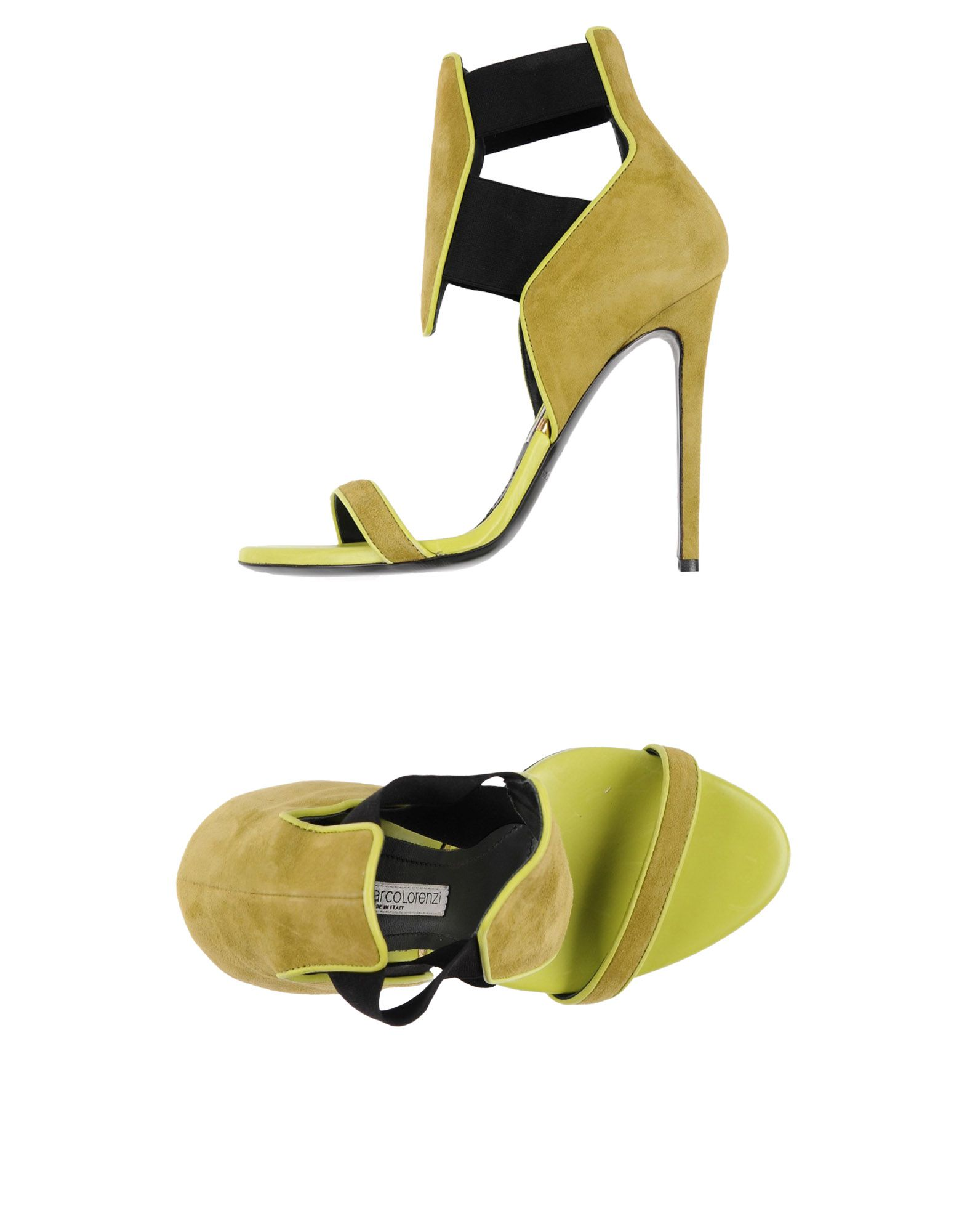 gianmarco lorenzi sandals in light green modesens rh modesens com