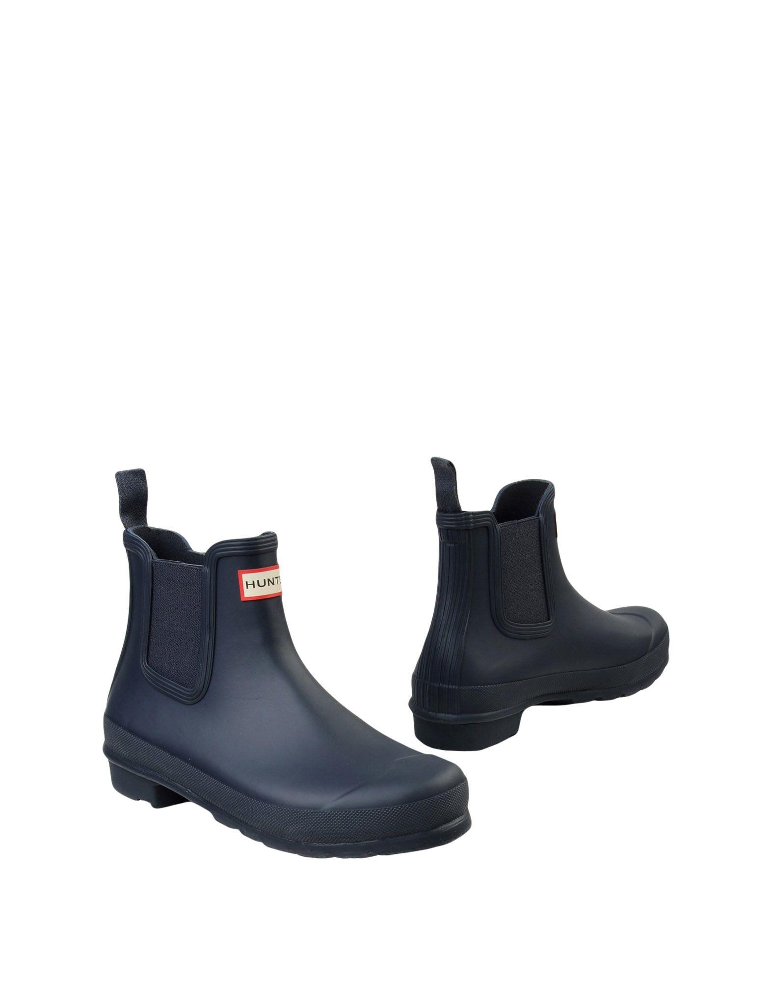 HUNTER Полусапоги и высокие ботинки crocs полусапоги и высокие ботинки