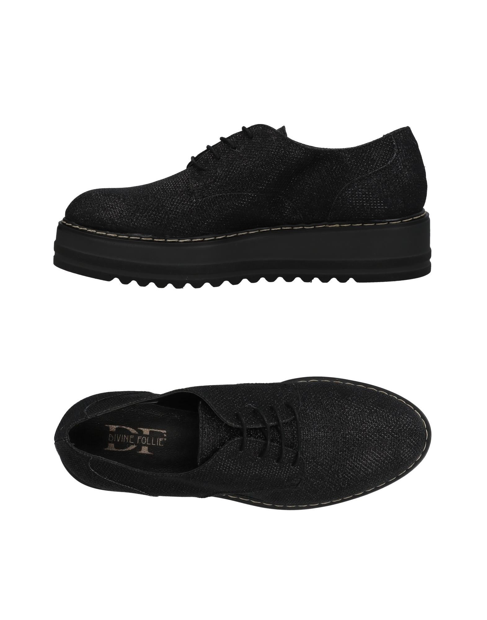 DIVINE FOLLIE Обувь на шнурках цены онлайн