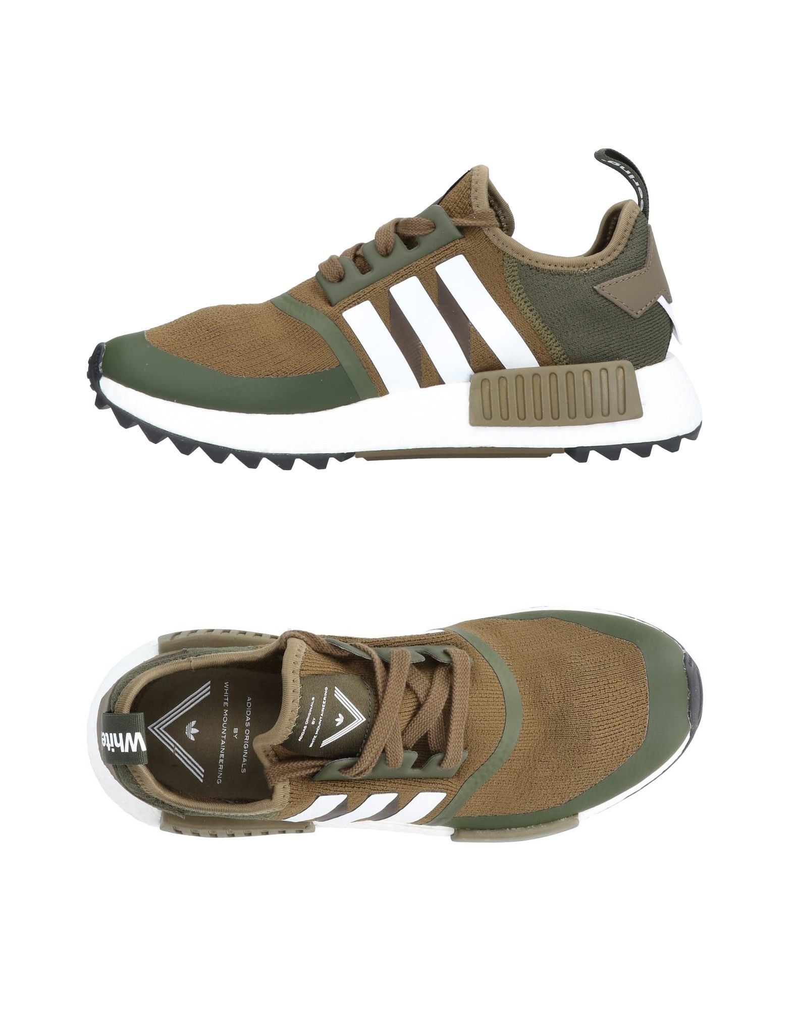 ADIDAS X WHITE MOUNTAINEERING Sneakers in Military Green