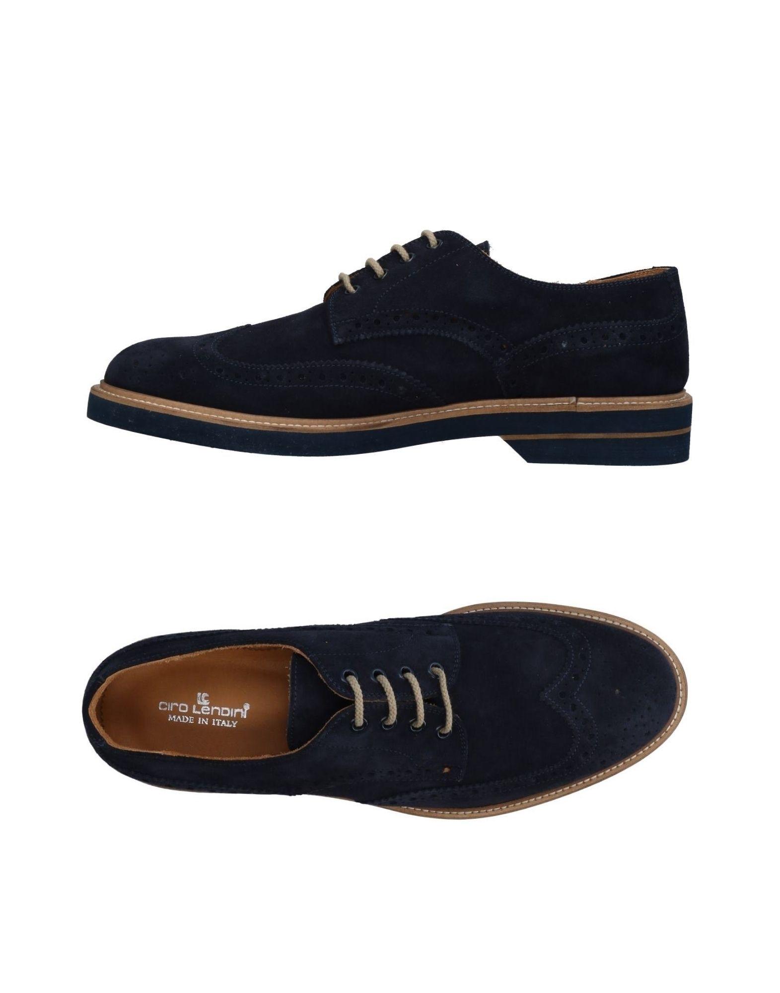 CIRO LENDINI Обувь на шнурках цены онлайн