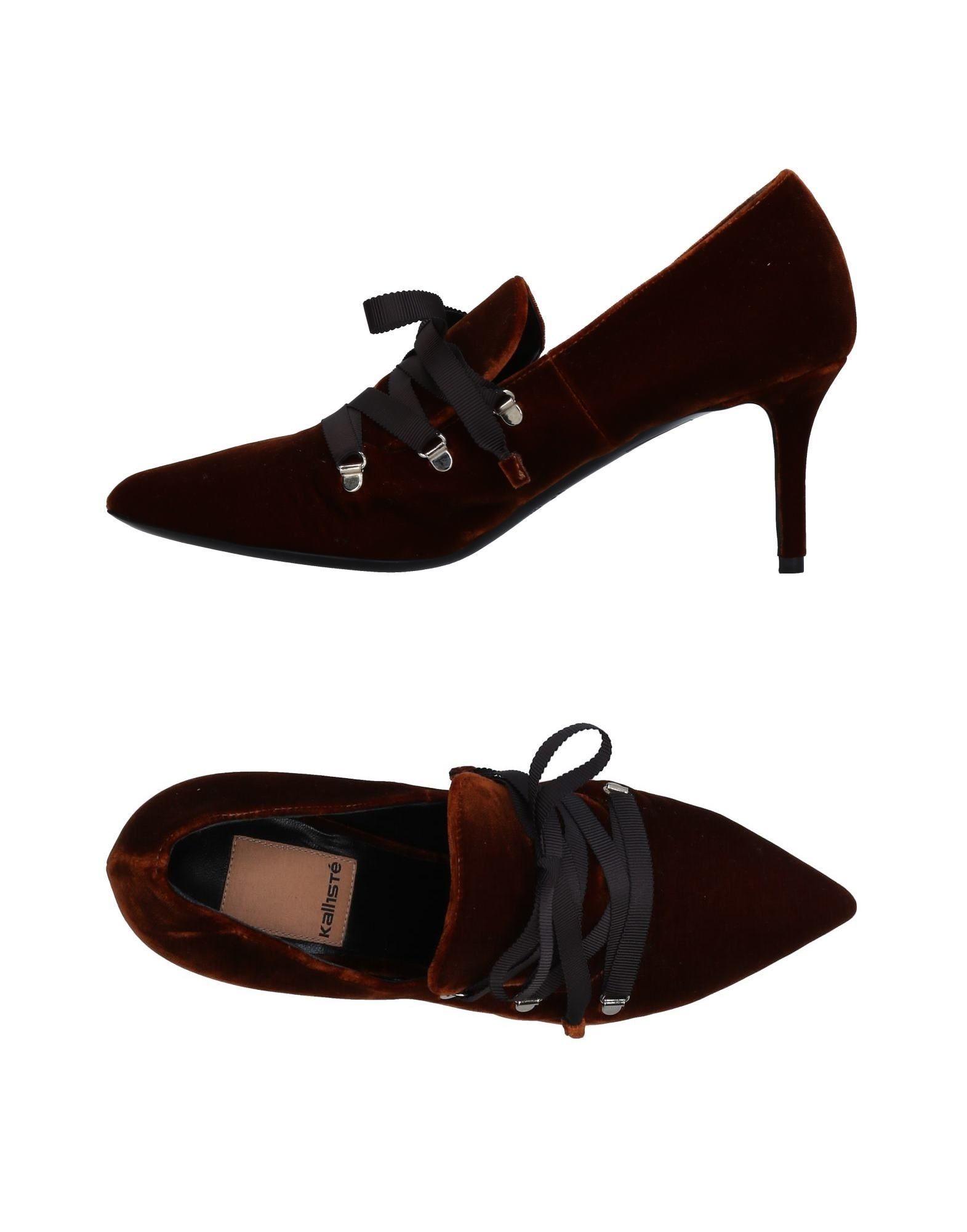 KALLISTÈ Обувь на шнурках обувь ламода