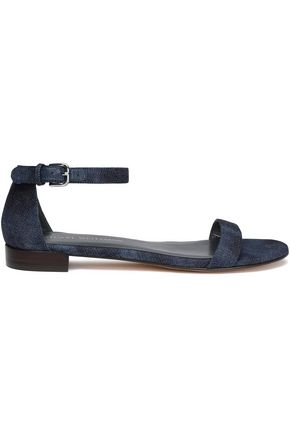STUART WEITZMAN Denim sandals