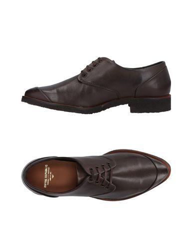 Купить Обувь на шнурках от ROYAL REPUBLIQ темно-коричневого цвета
