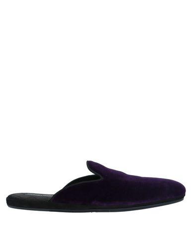 Купить Домашние туфли фиолетового цвета