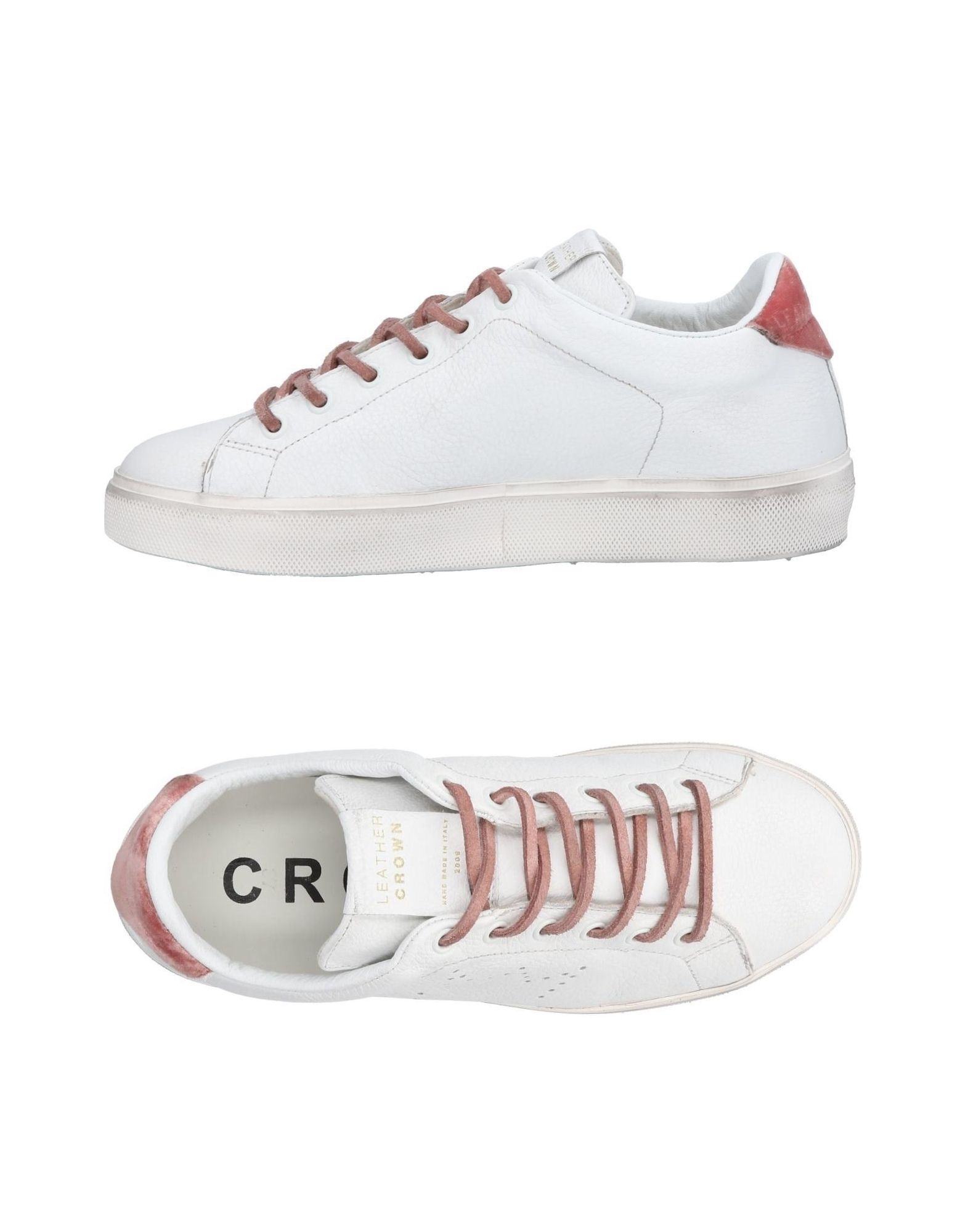 LEATHER CROWN Низкие кеды и кроссовки leather crown низкие кеды и кроссовки