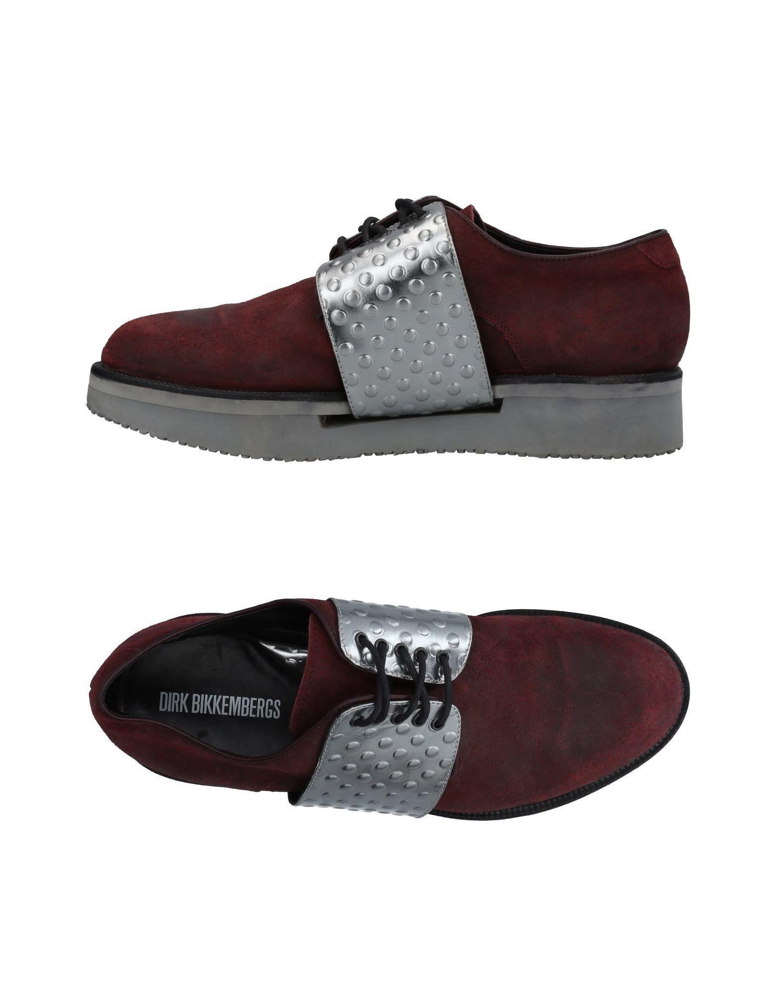 DIRK BIKKEMBERGS Обувь на шнурках цены онлайн