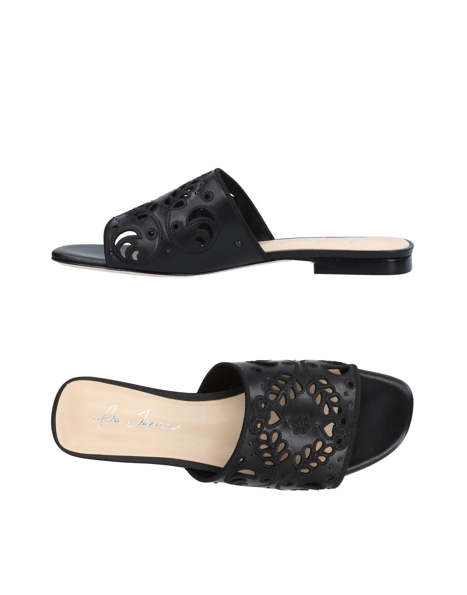 ISA TAPIA Sandals in Black