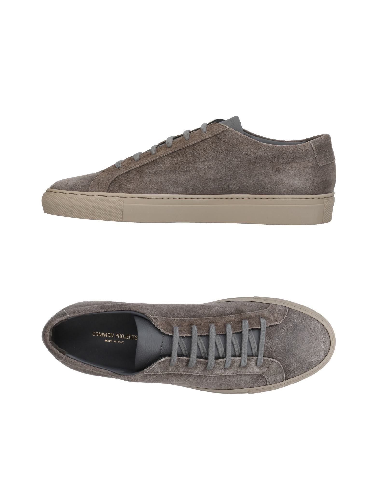 COMMON PROJECTS Низкие кеды и кроссовки