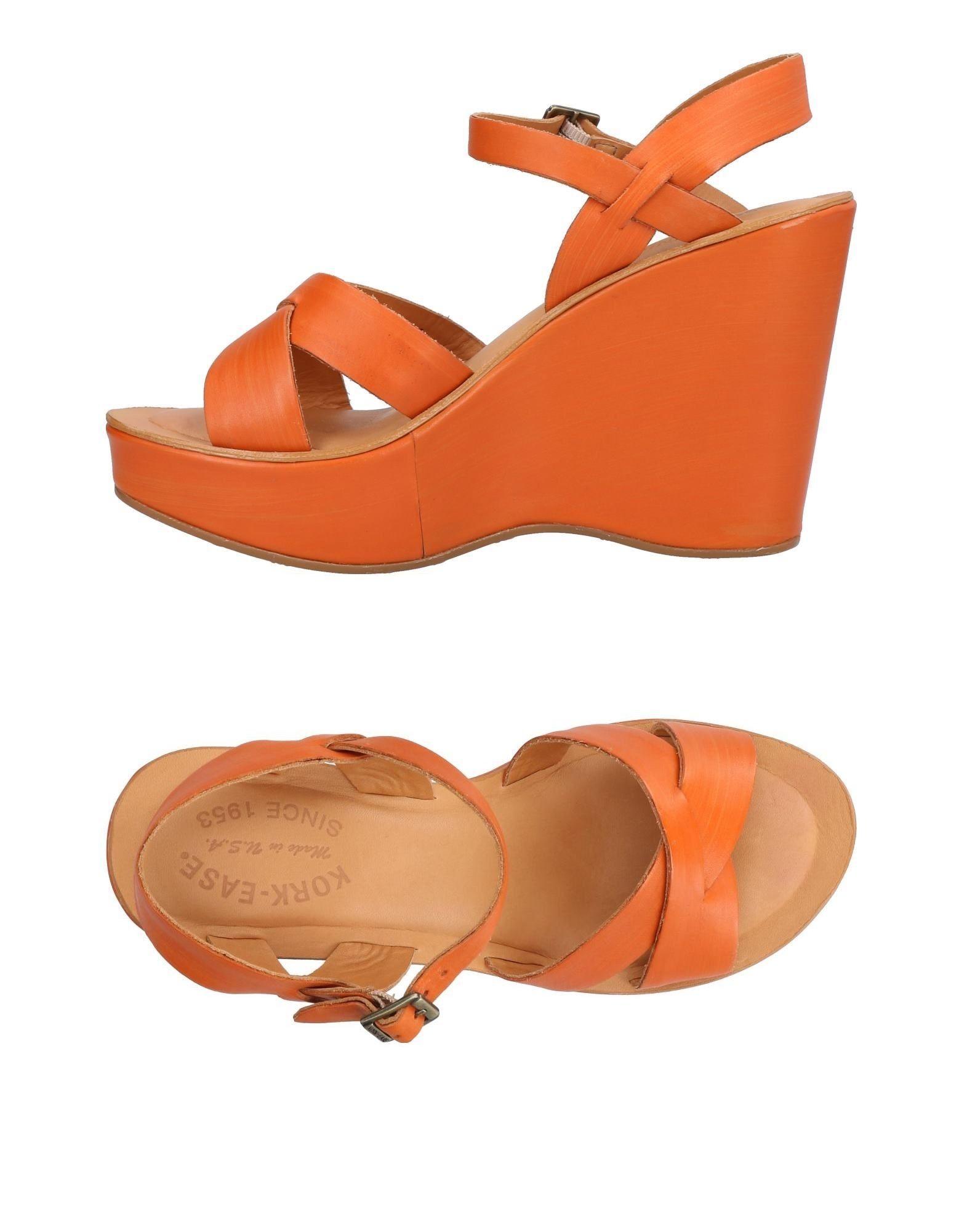 KORK-EASE Sandals in Orange