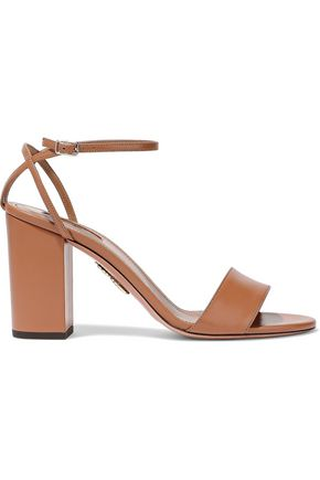 AQUAZZURA Tahiti leather sandals