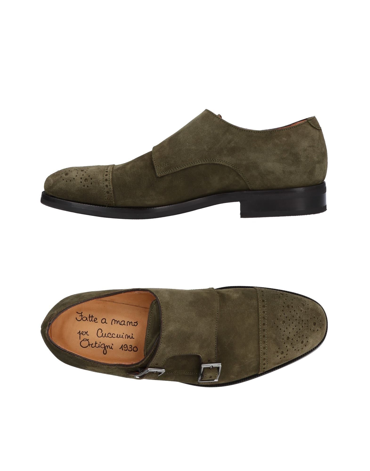 ORTIGNI Loafers in Military Green