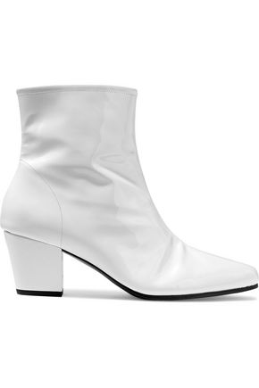 ALEXA CHUNG Beatnik patent-leather ankle boots