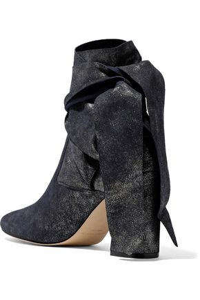 SIGERSON MORRISON Sally knotted suede ankle boots