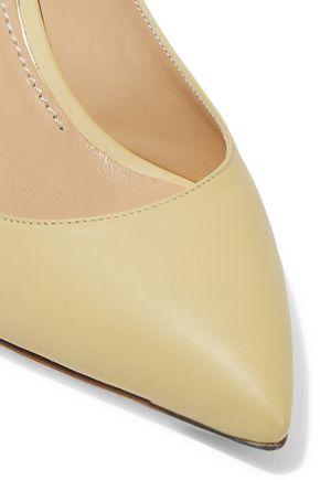 DOLCE & GABBANA Bellucci leather slingback pumps