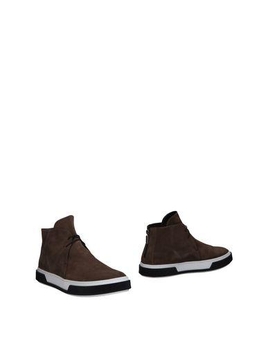 Купить Полусапоги и высокие ботинки от ALEJANDRO INGELMO цвета хаки