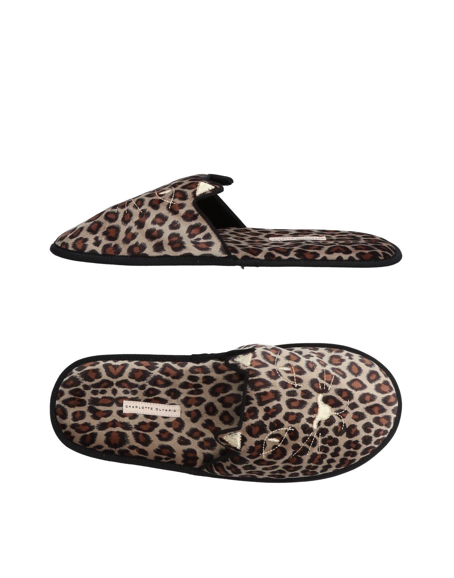 CHARLOTTE OLYMPIA Домашние туфли цены онлайн