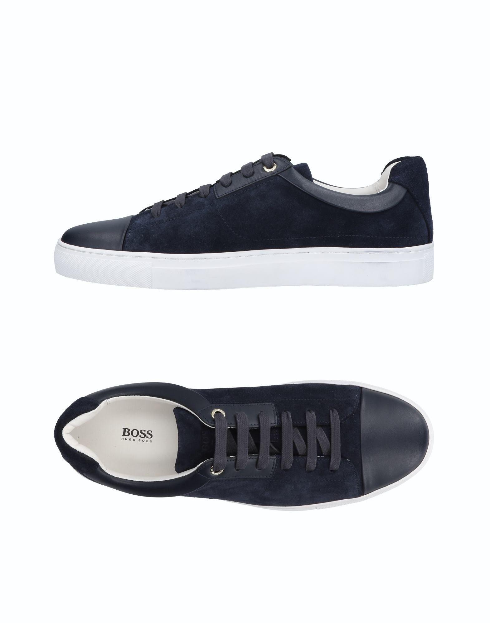 BOSS BLACK Низкие кеды и кроссовки кеды кроссовки низкие reef ridge premium heathered black